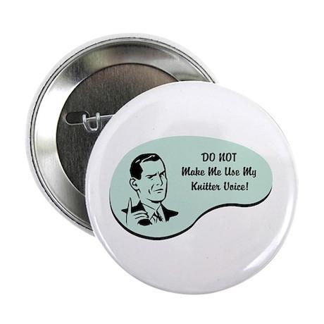 "Knitter Voice 2.25"" Button (10 pack)"