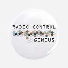 """Radio Control Genius 3.5"""" Button (100 pack)"""