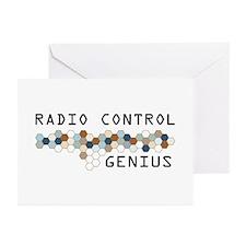 Radio Control Genius Greeting Cards (Pk of 20)