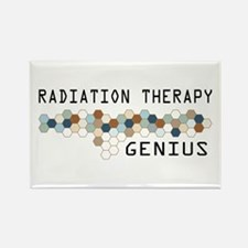 Radiation Therapy Genius Rectangle Magnet