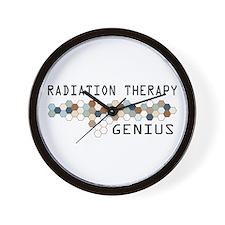 Radiation Therapy Genius Wall Clock