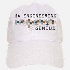 QA Engineering Genius Baseball Baseball Cap