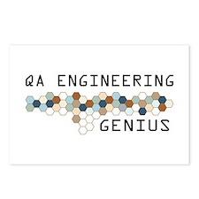 QA Engineering Genius Postcards (Package of 8)