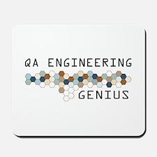 QA Engineering Genius Mousepad