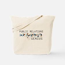 Public Relations Genius Tote Bag