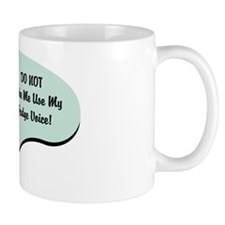 Judge Voice Small Mug