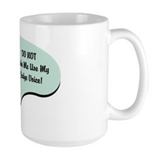 Judge Voice Mug