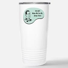 Judge Voice Thermos Mug