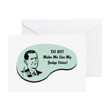 Judge Voice Greeting Cards (Pk of 20)