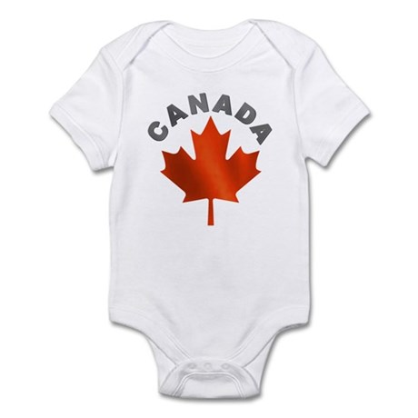Canadian Maple Leaf Infant Creeper