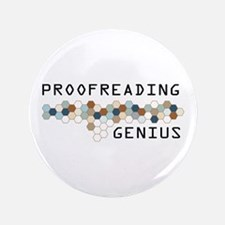 "Proofreading Genius 3.5"" Button"
