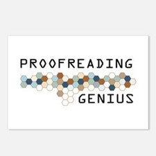 Proofreading Genius Postcards (Package of 8)