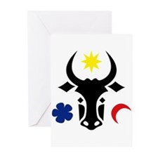 Moldova Emblem Greeting Cards (Pk of 20)