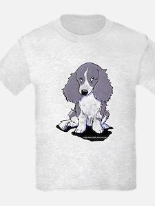 Blue Piebald LH Doxie T-Shirt