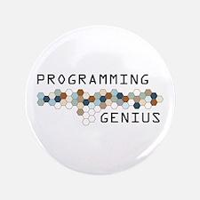 "Programming Genius 3.5"" Button"