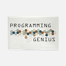 Programming Genius Rectangle Magnet