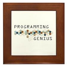 Programming Genius Framed Tile