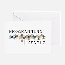Programming Genius Greeting Card
