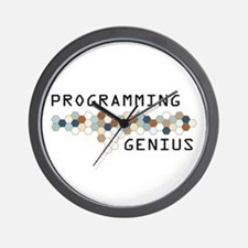Programming Genius Wall Clock