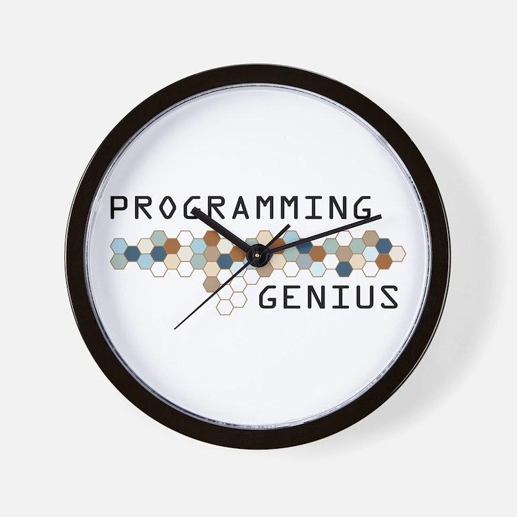 Programming Genius Wall Clock