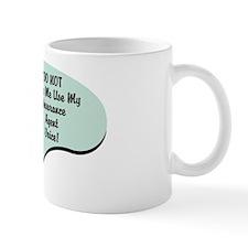 Insurance Agent Voice Small Mug
