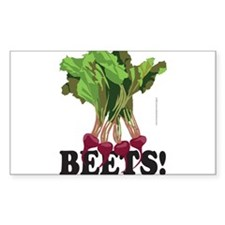 BEETS! Rectangle Decal