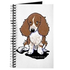 Red Piebald LH Doxie Journal