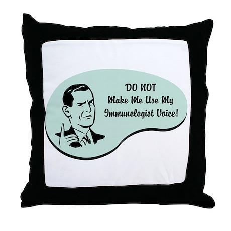 Immunologist Voice Throw Pillow