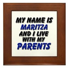 my name is maritza and I live with my parents Fram
