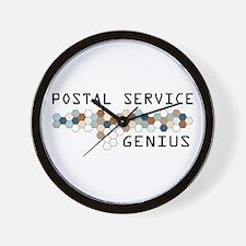 Postal Service Genius Wall Clock