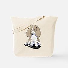 Isabella Piebald LH Doxie Tote Bag