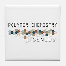 Polymer Chemistry Genius Tile Coaster