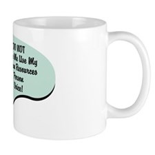 Human Resources Person Voice Mug