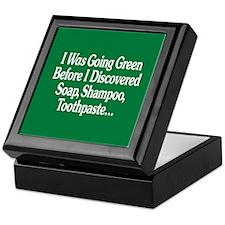 I Was Going Green Keepsake Box