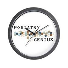 Podiatry Genius Wall Clock