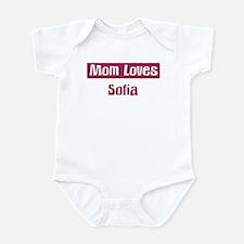 Mom Loves Sofia Infant Bodysuit