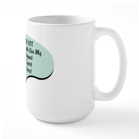 Hazmat Expert Voice Large Mug