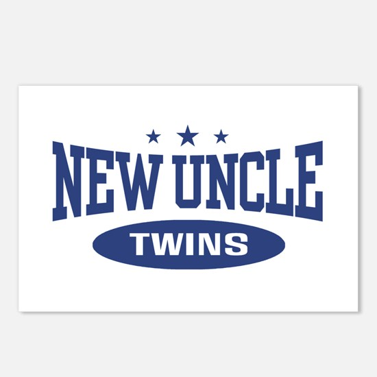 New Uncle Twins Postcards (Package of 8)