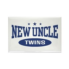 New Uncle Twins Rectangle Magnet