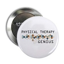 """Physical Therapy Genius 2.25"""" Button"""