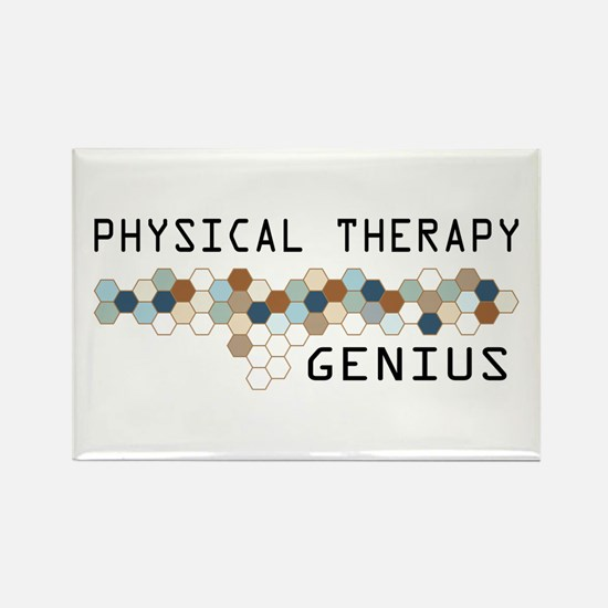 Physical Therapy Genius Rectangle Magnet