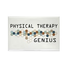 Physical Therapy Genius Rectangle Magnet (10 pack)