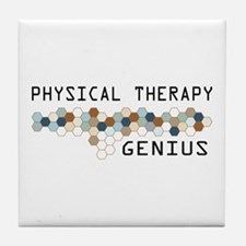 Physical Therapy Genius Tile Coaster