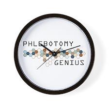 Phlebotomy Genius Wall Clock