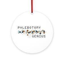 Phlebotomy Genius Ornament (Round)
