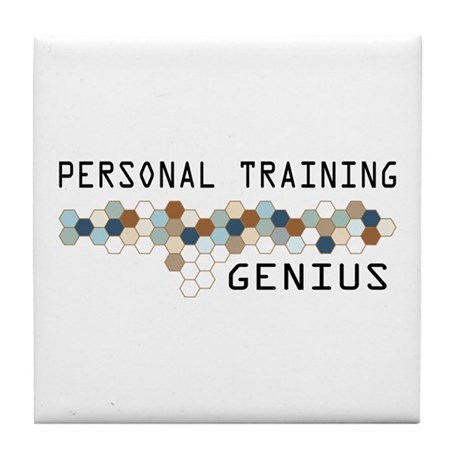 Personal Training Genius Tile Coaster