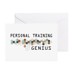 Personal Training Genius Greeting Cards (Pk of 20)