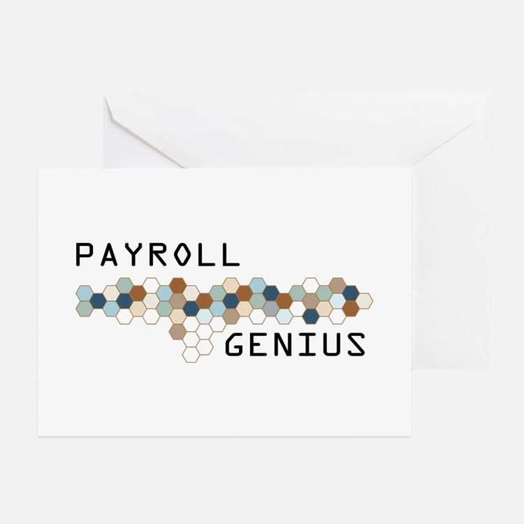 Payroll Genius Greeting Cards (Pk of 10)