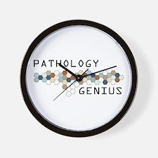 Pathology Genius Wall Clock