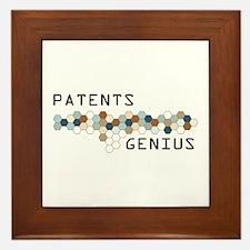Patents Genius Framed Tile